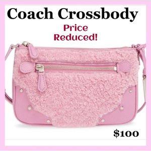 ✨HUGE SALE✨BNWT- Coach Pink Crossbody